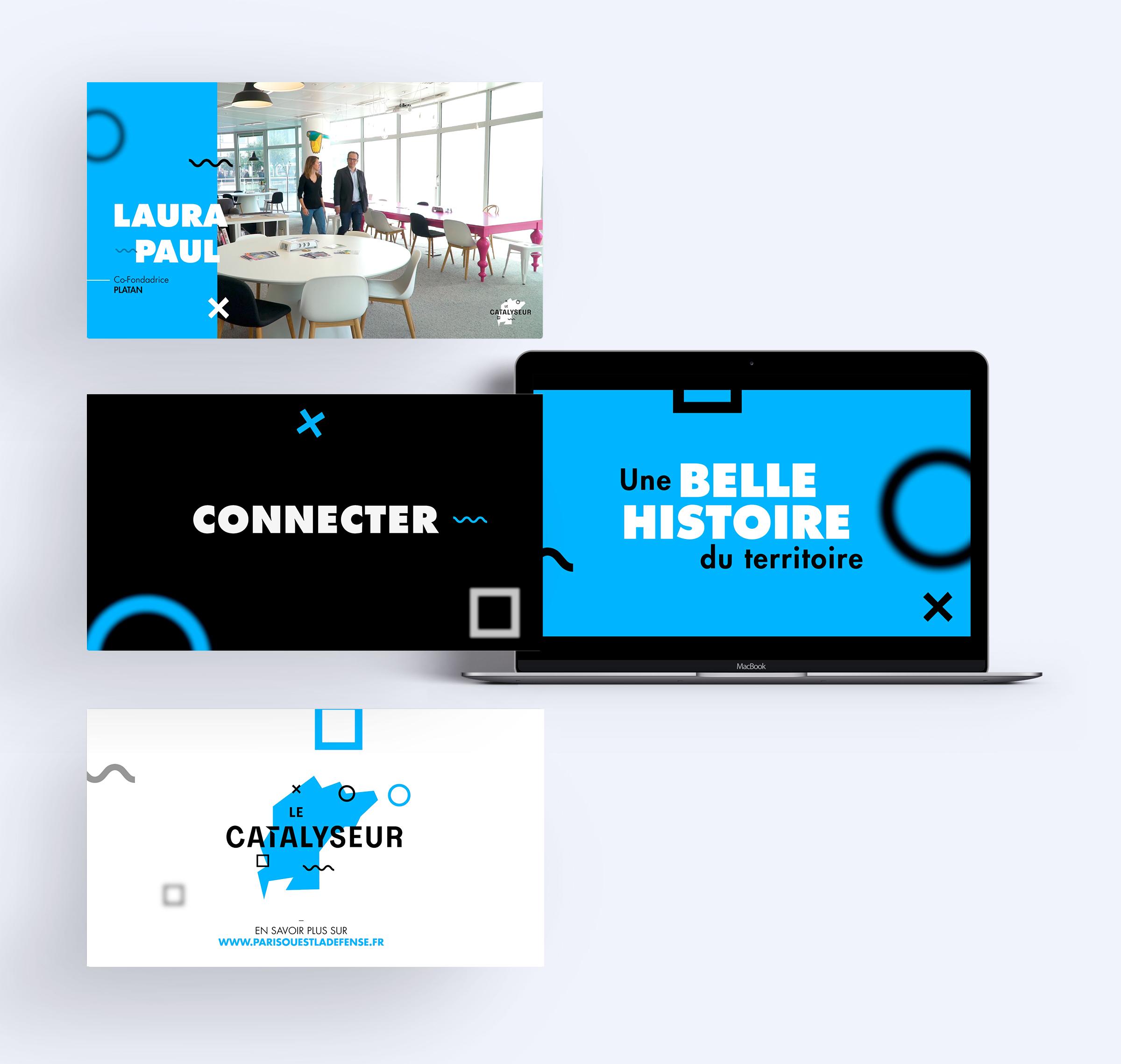réalisation animation 3D Paris Ouest La Défense digital agency