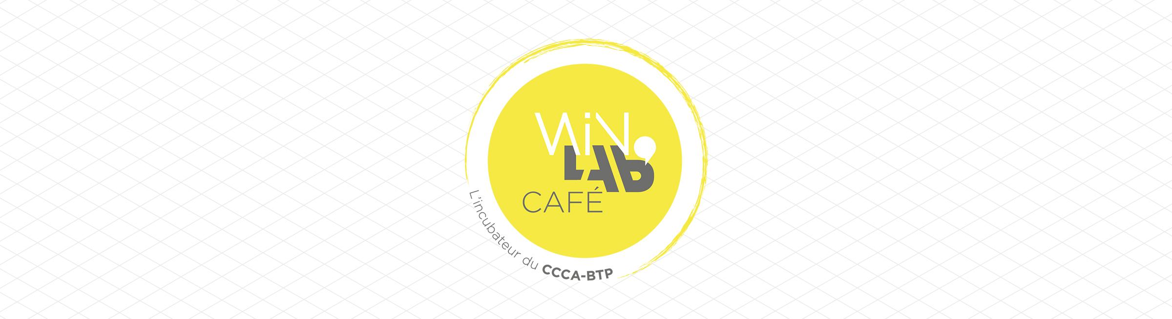 Création logo WinLab' café