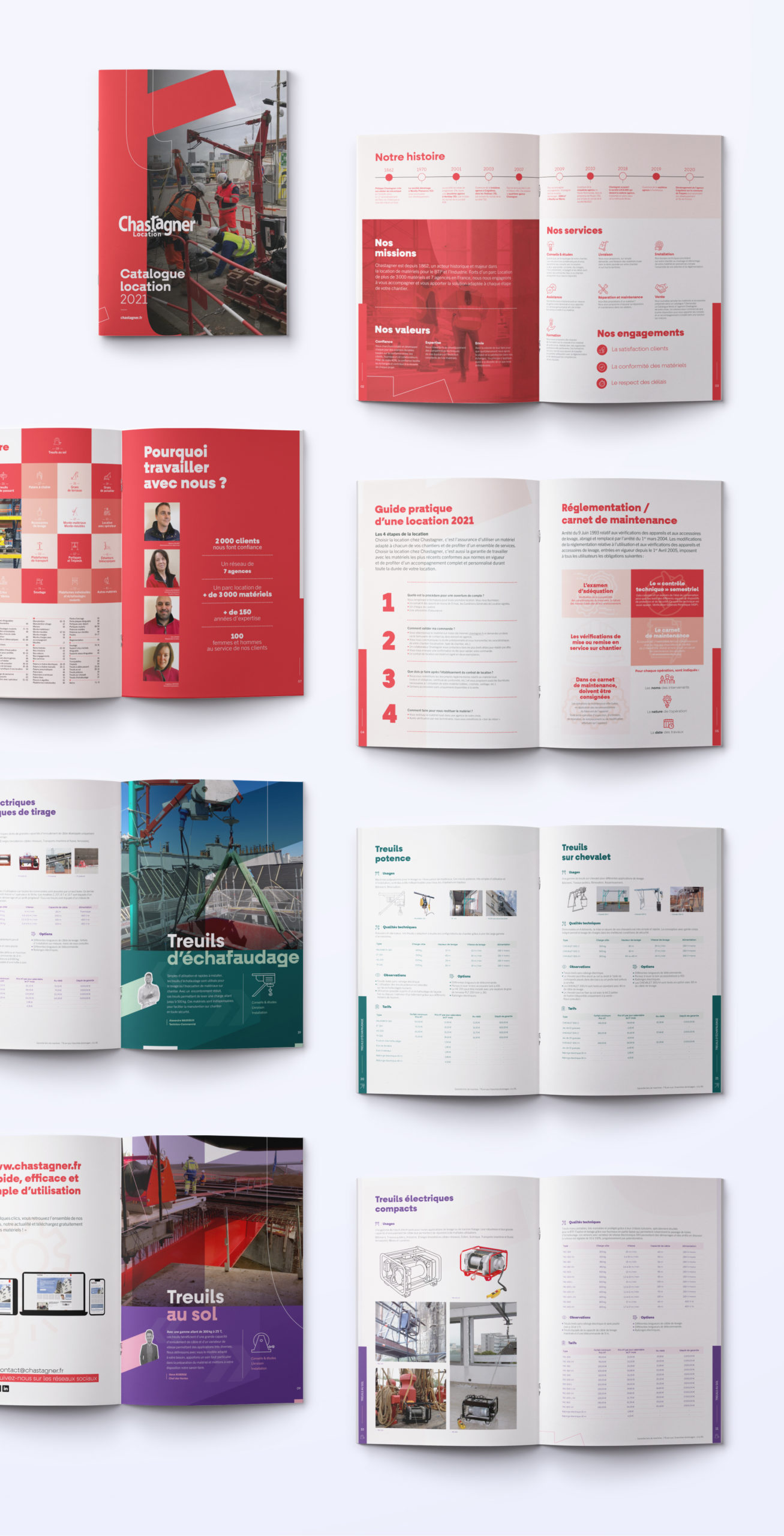 catalogue chastagner