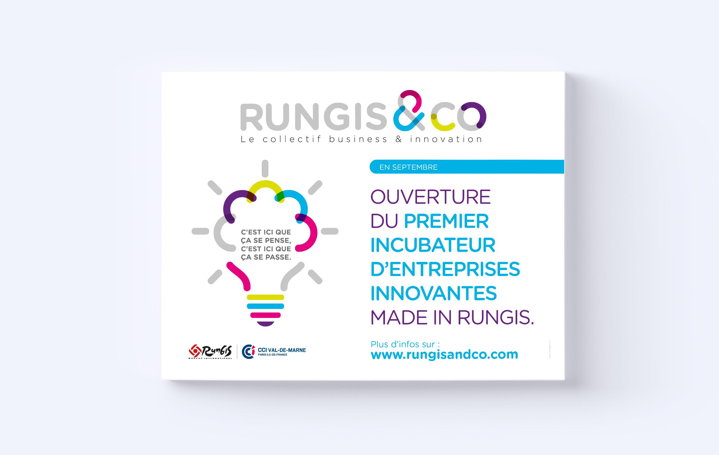 Création affiche Rungis
