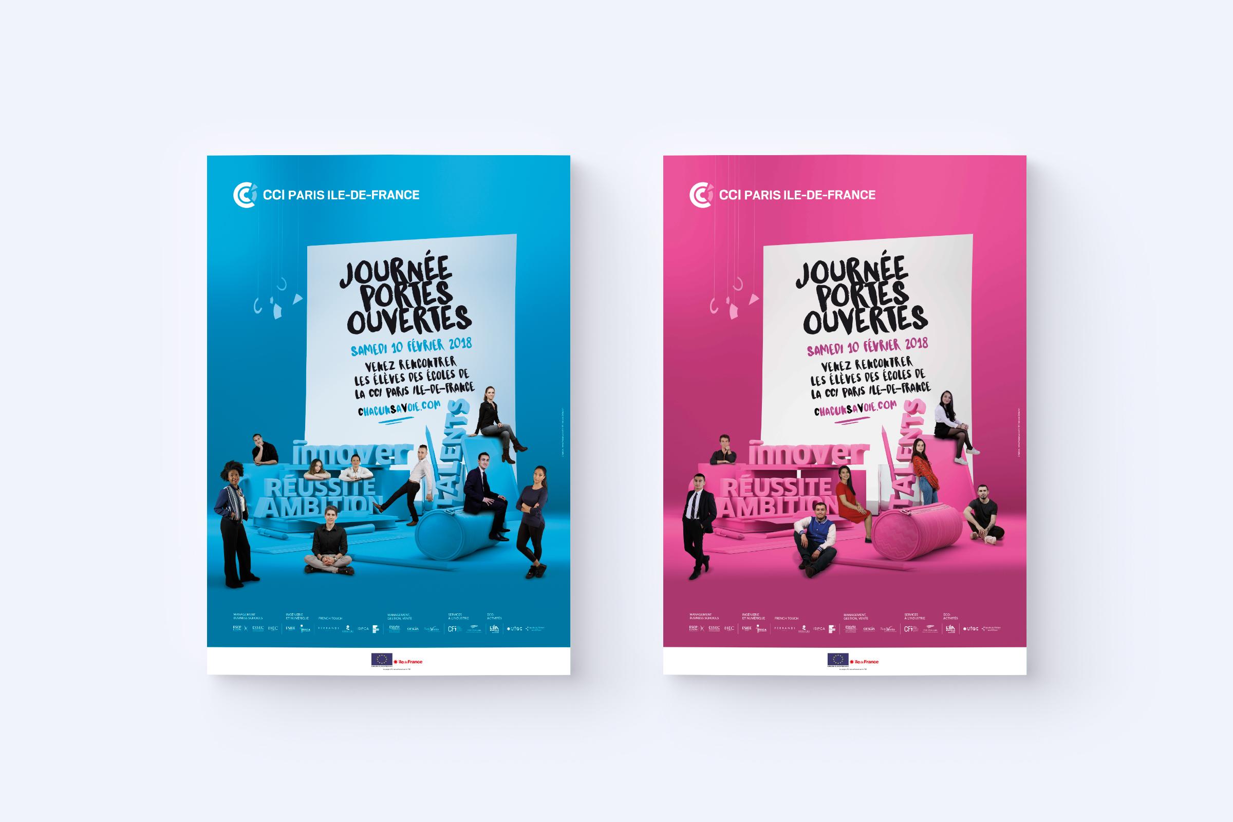 Création d'affiches JPO 2018