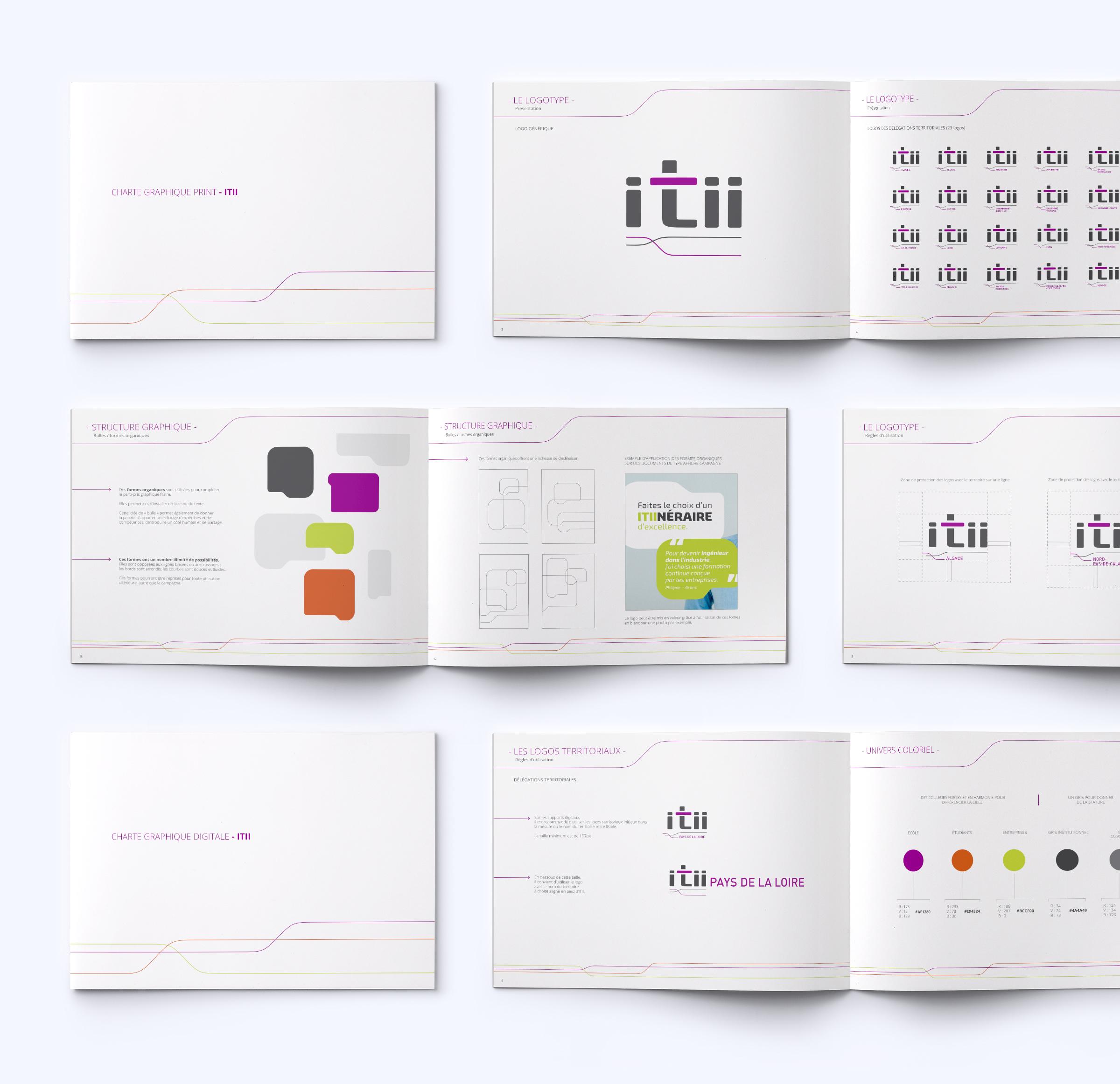 Réalisation charte graphique ITII