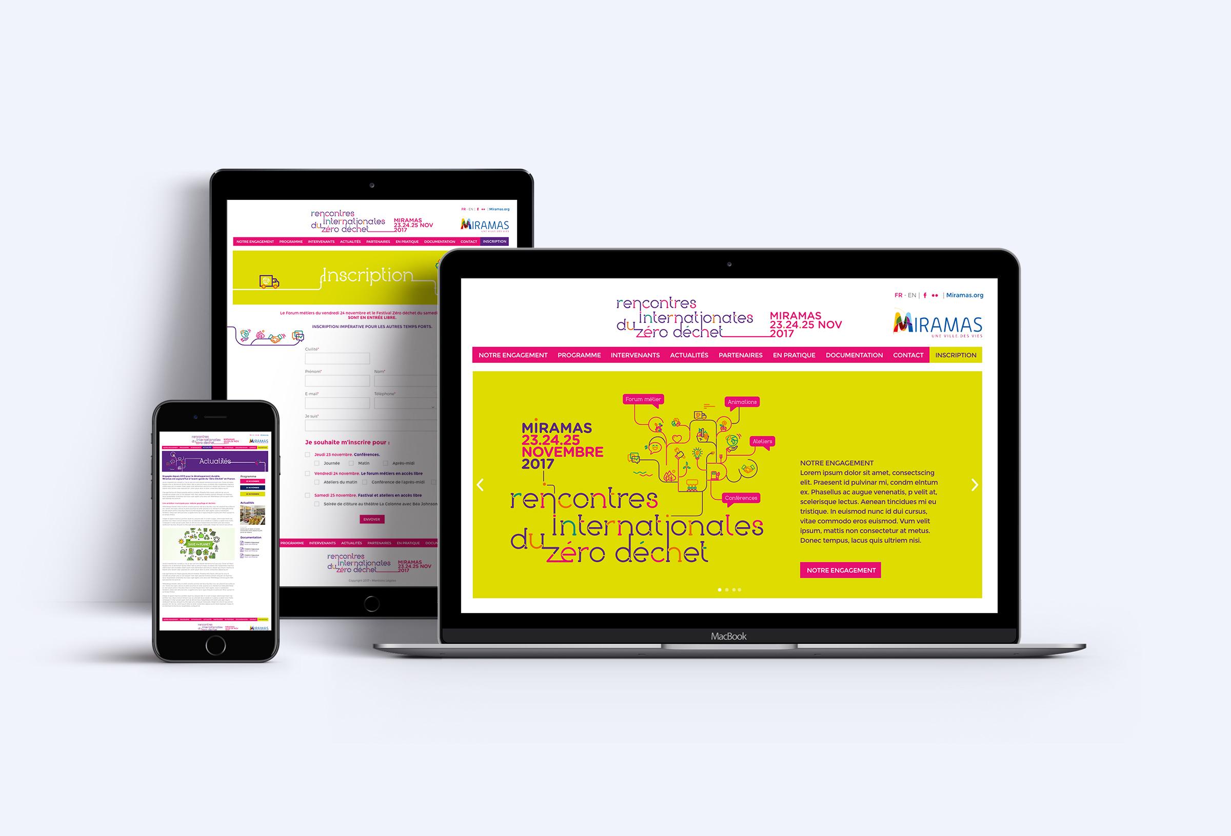 Création du site web Rencontre internationale du zéro déchet