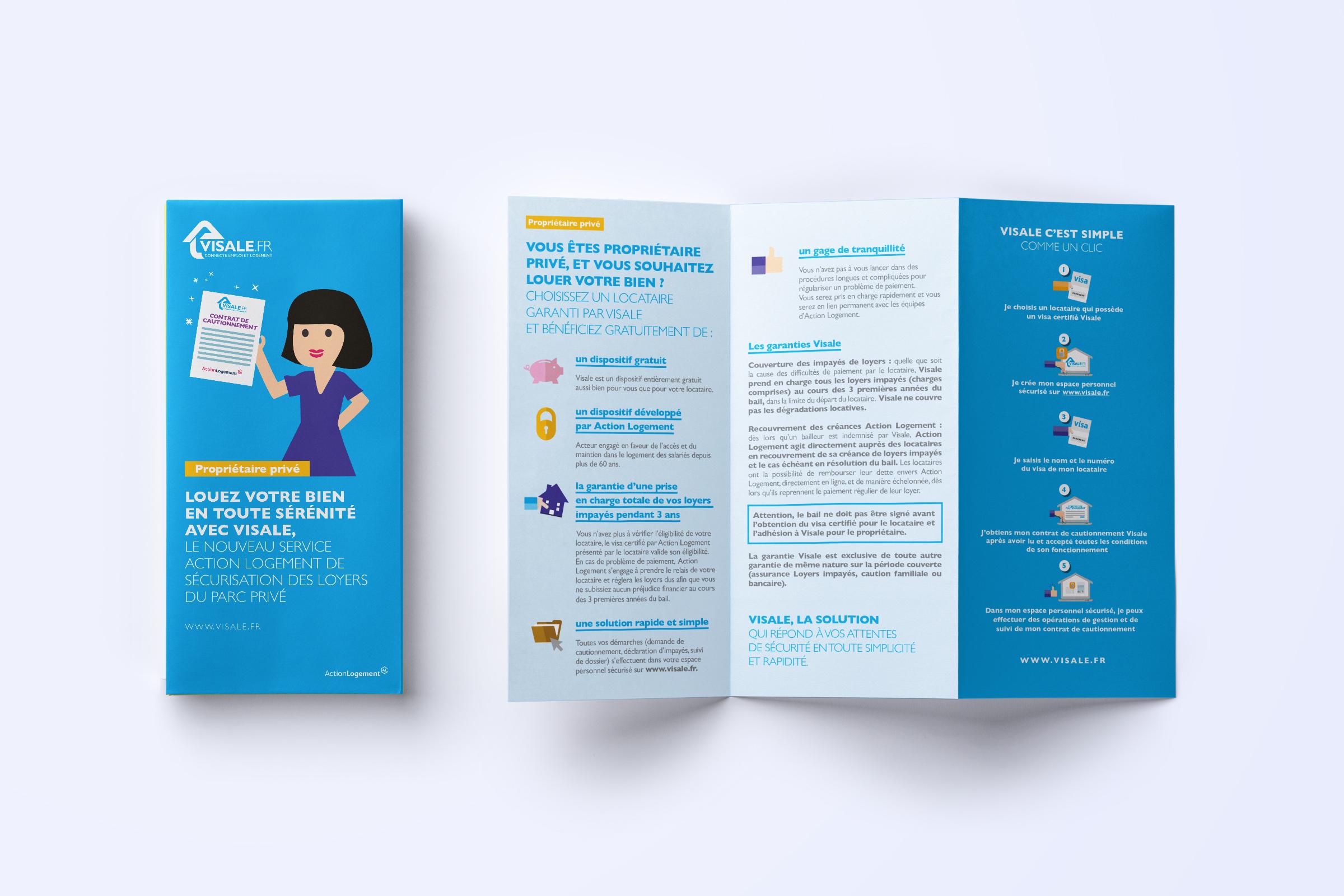 Création leaflet Visale