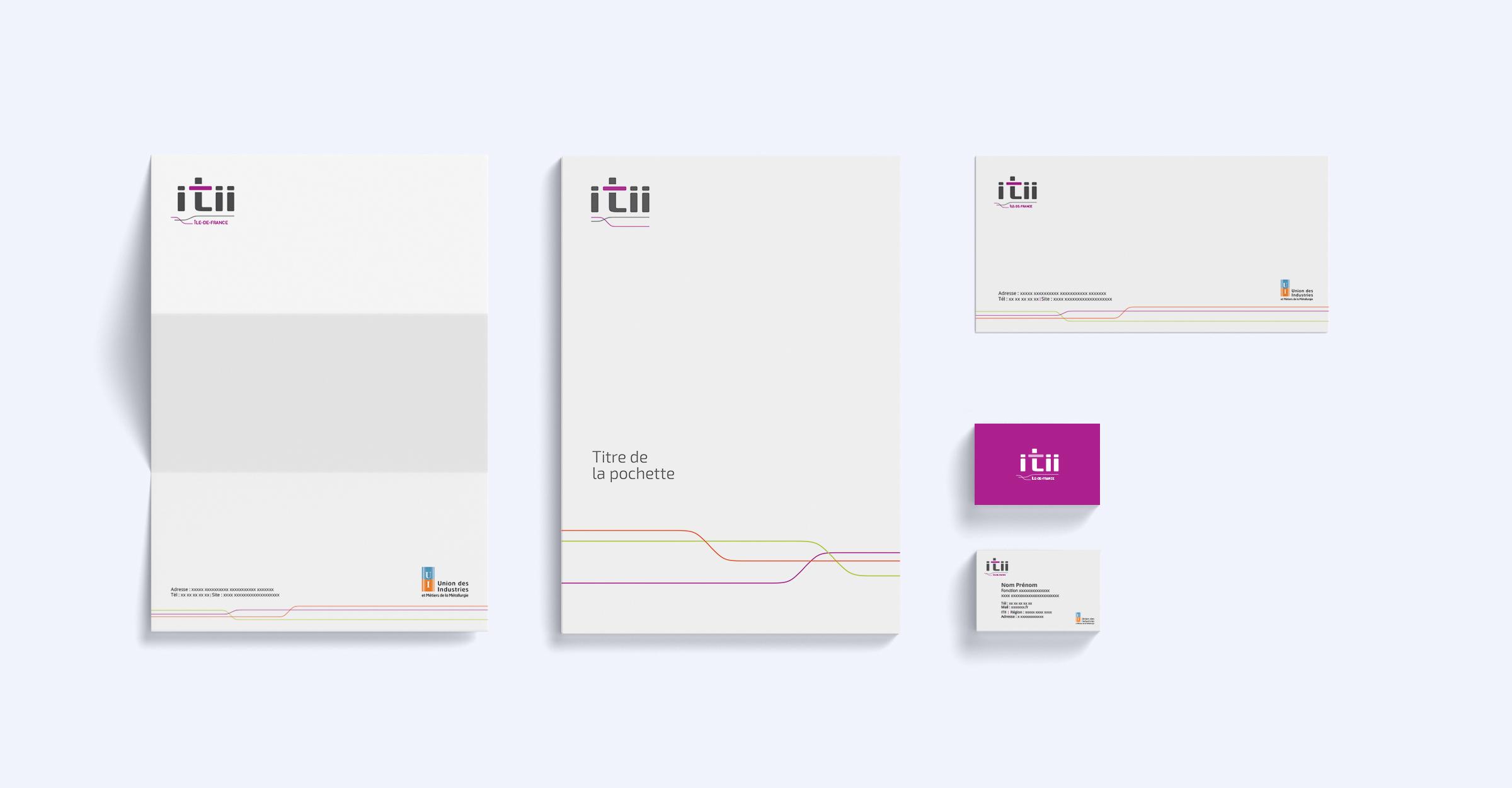 Réalisation supports de communication ITII