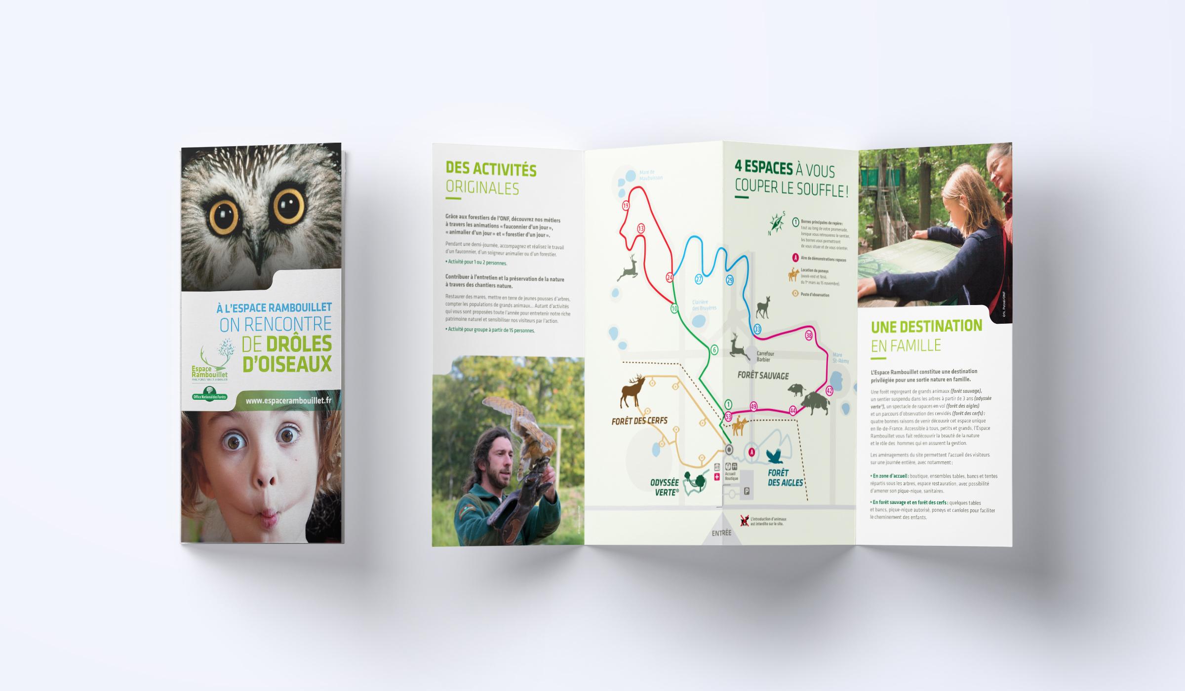 Création leaflet présentation du parc