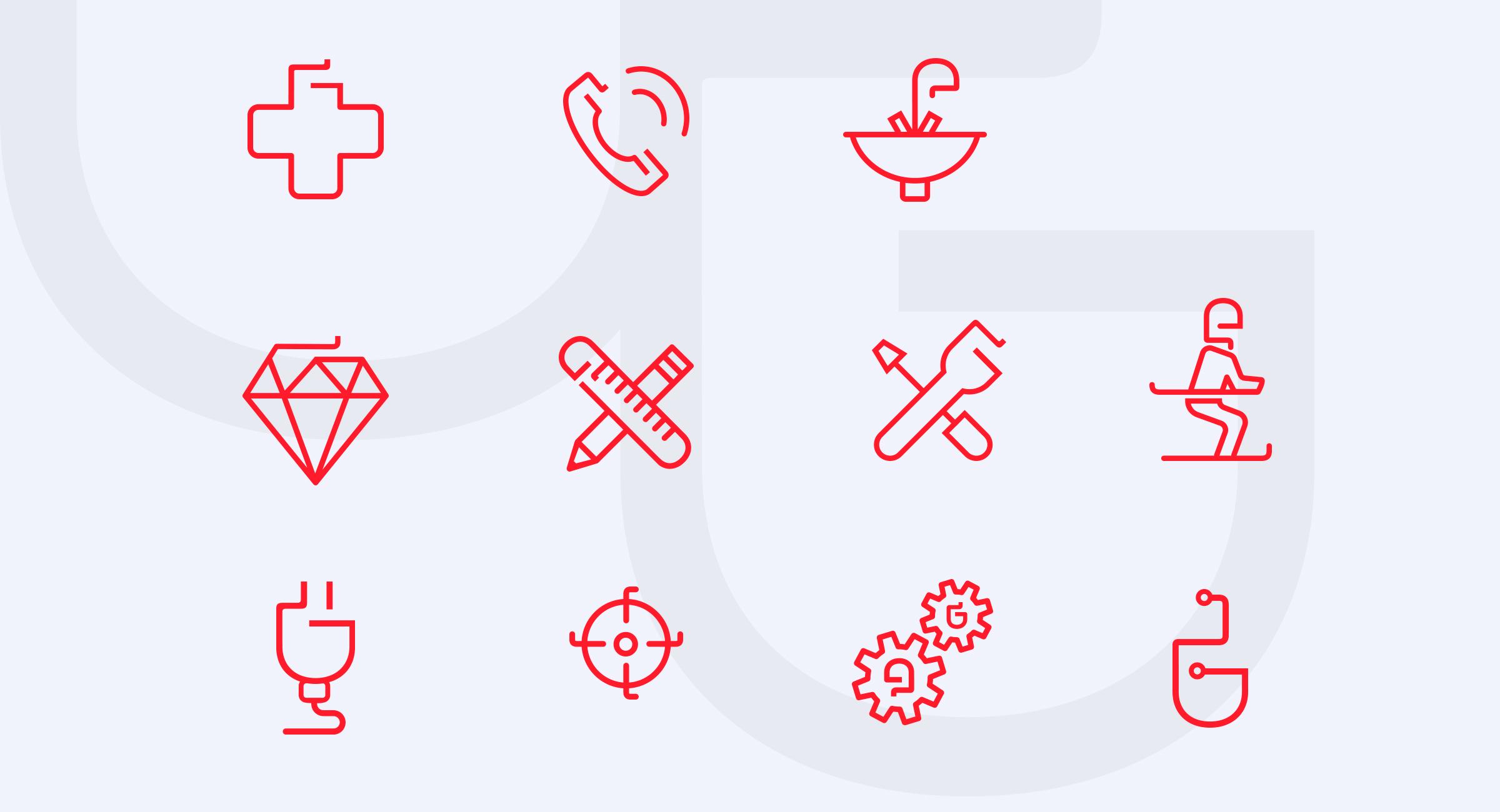 Gouvernon pictogrammes