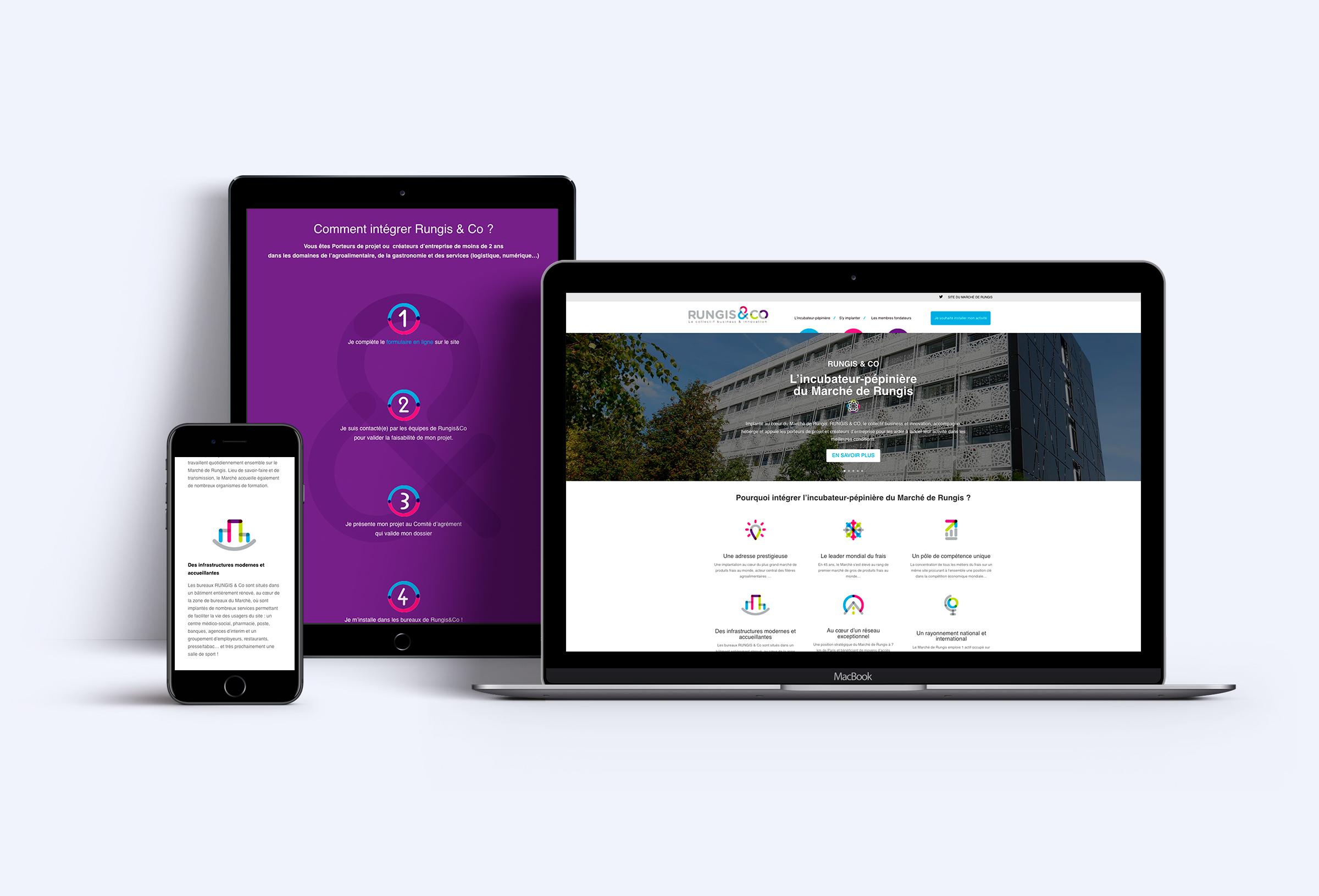 Création site web responsive Rungis