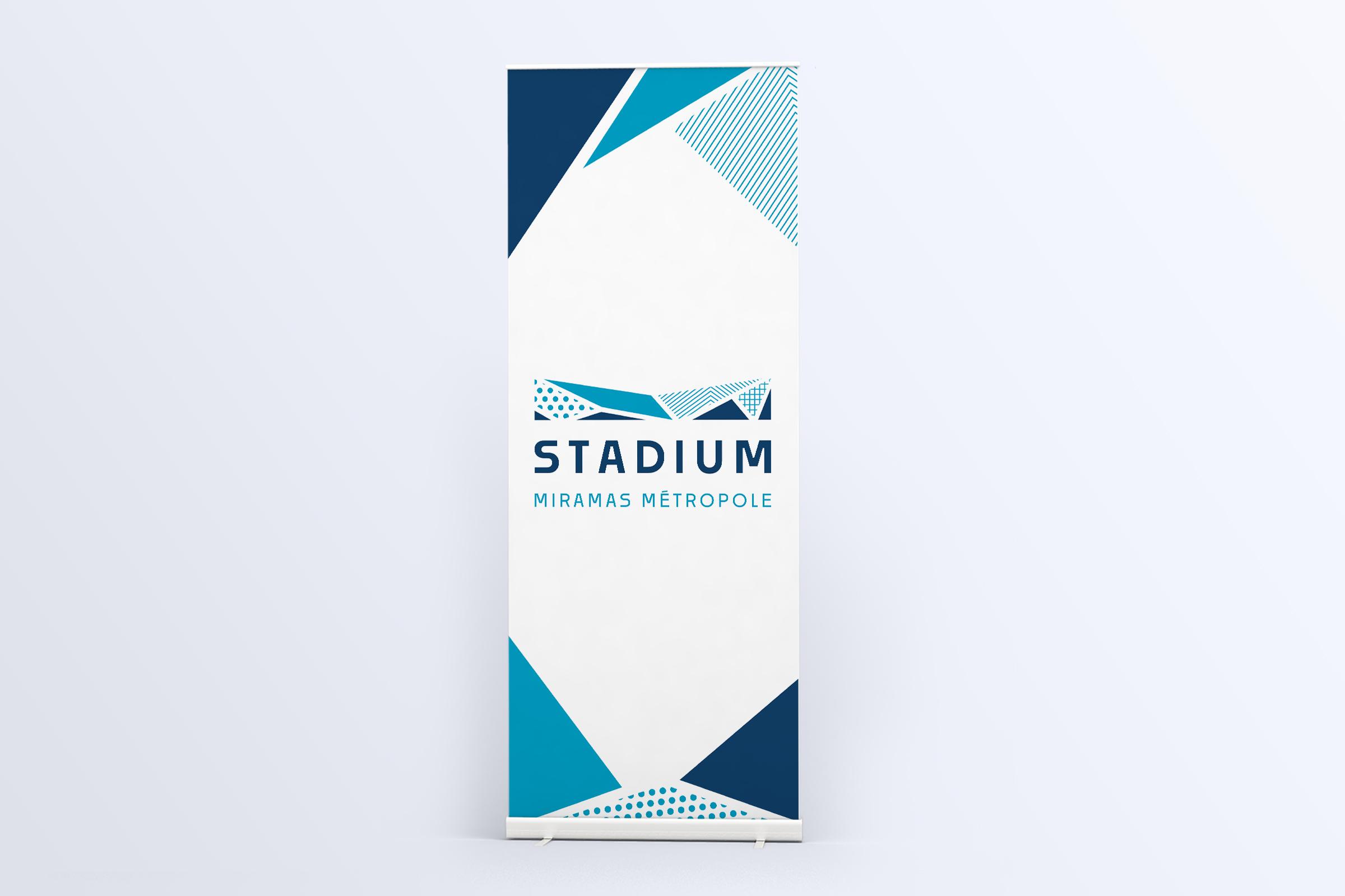 Création kakémono Stadium Miramas