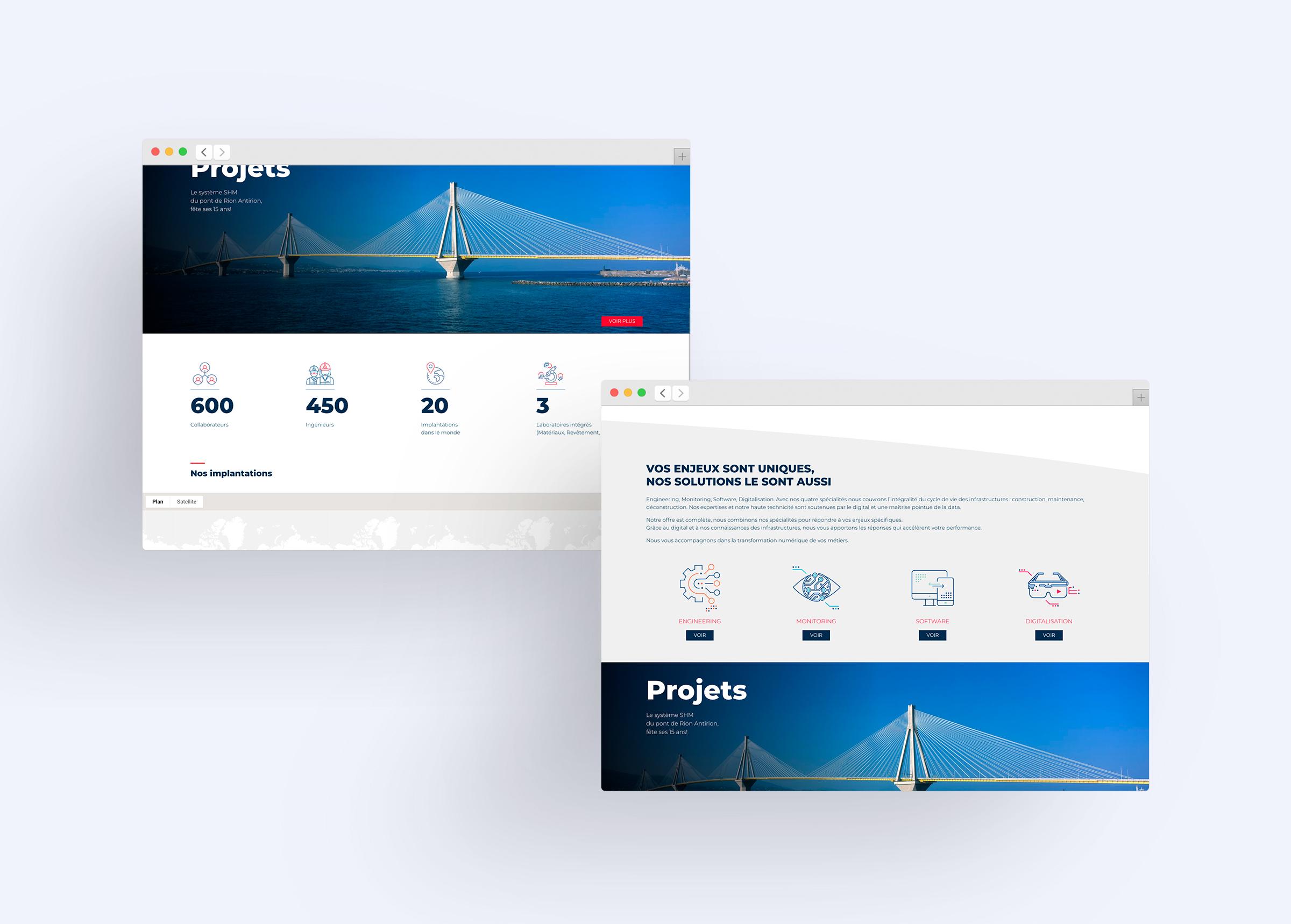 conception et réalisation site web responsive multi-devices Sixense