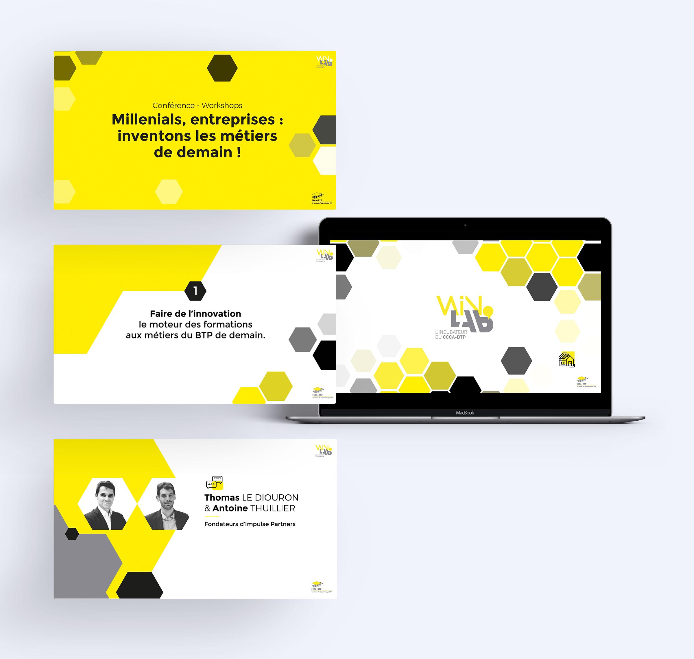 création support présentation évènement WinLab'
