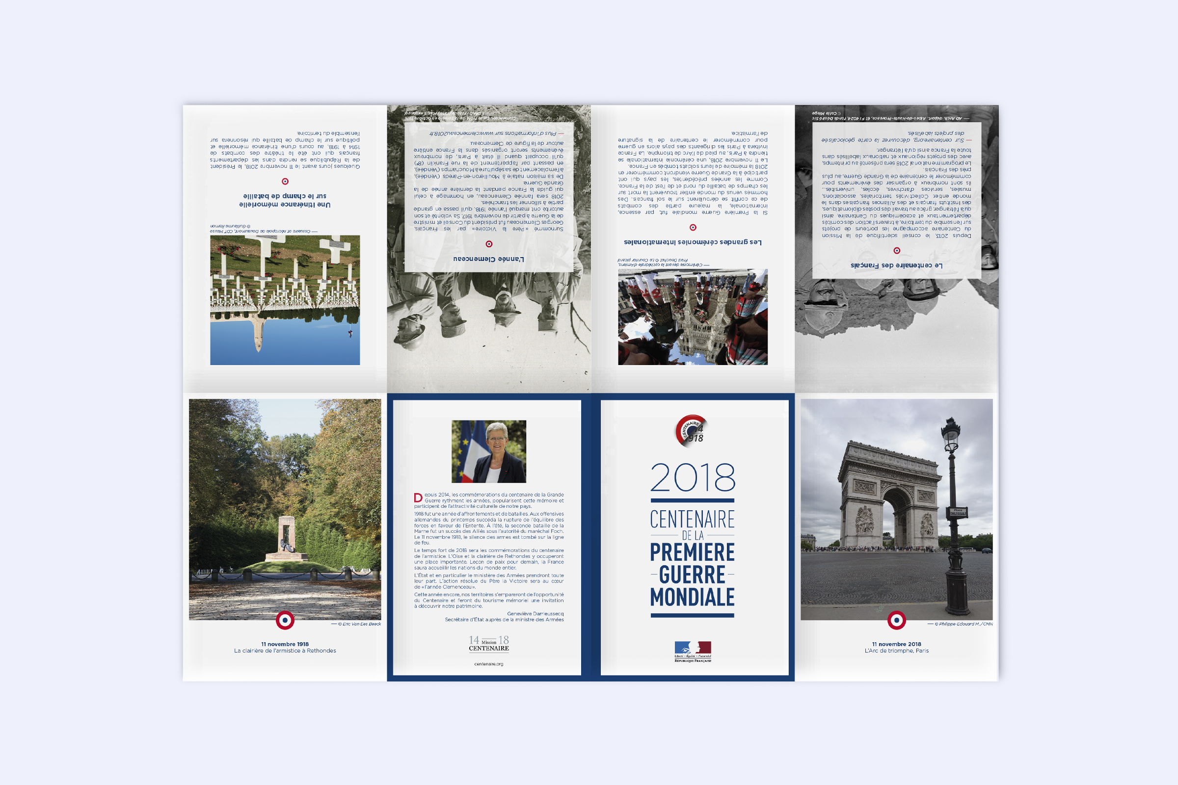 leaflet centenaire