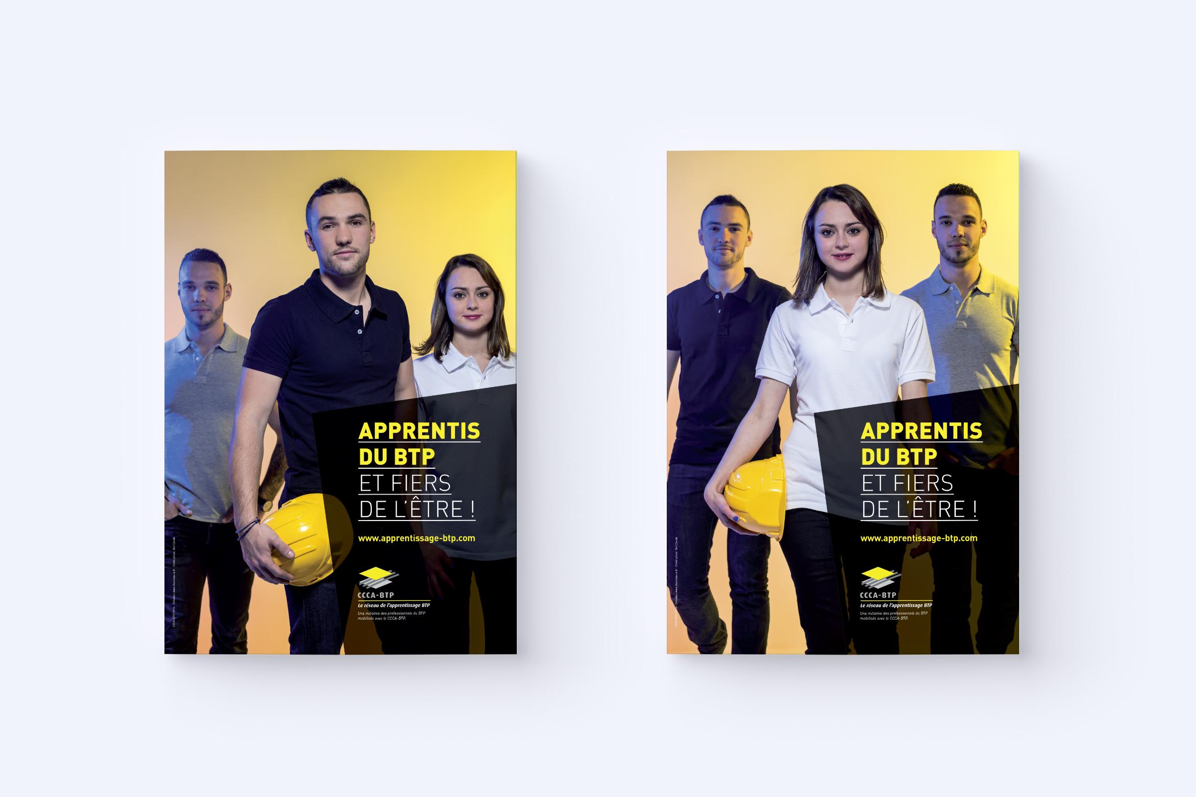 Création affiches campagne promotion jeunes