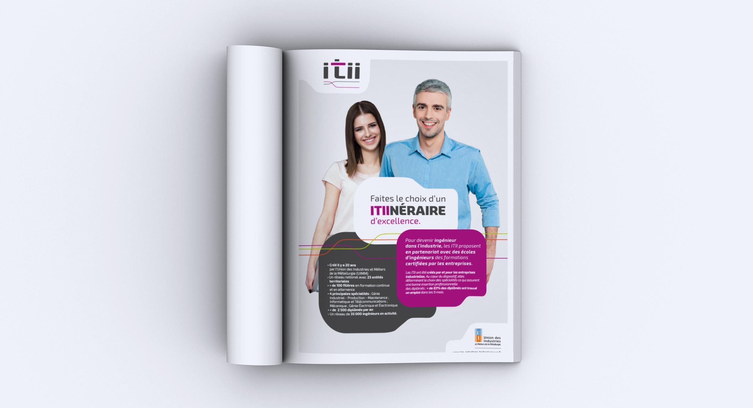 Réalisation annonce publicitaire ITII