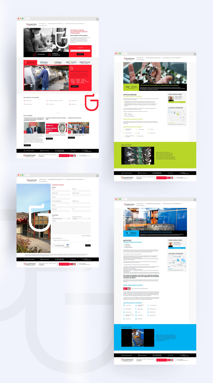 Création du site web de Gouvernon
