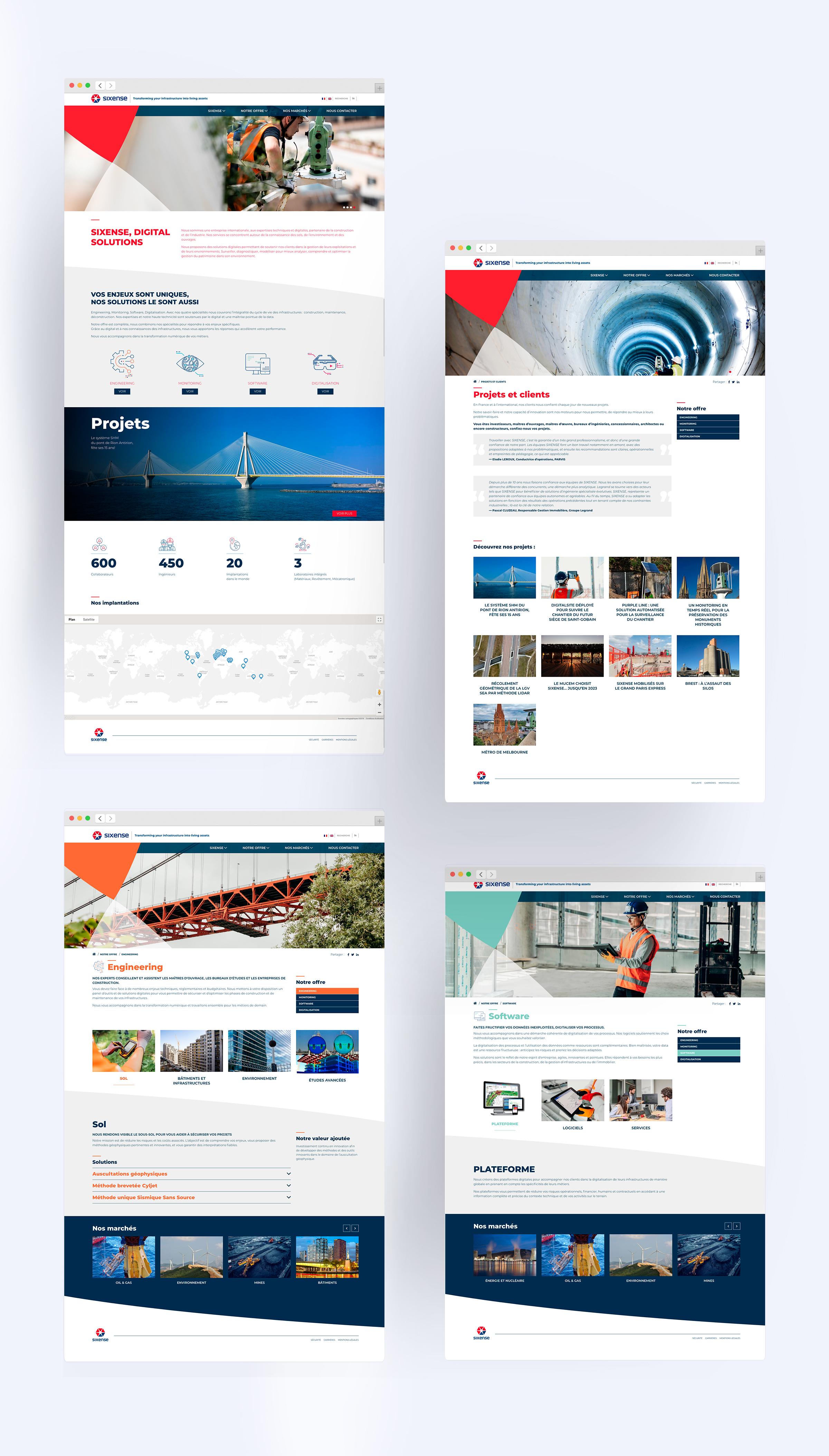 Site web Sixense