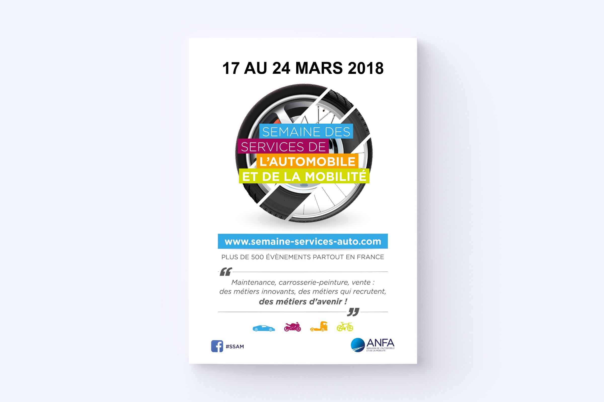 Création affiche SSAM 2018