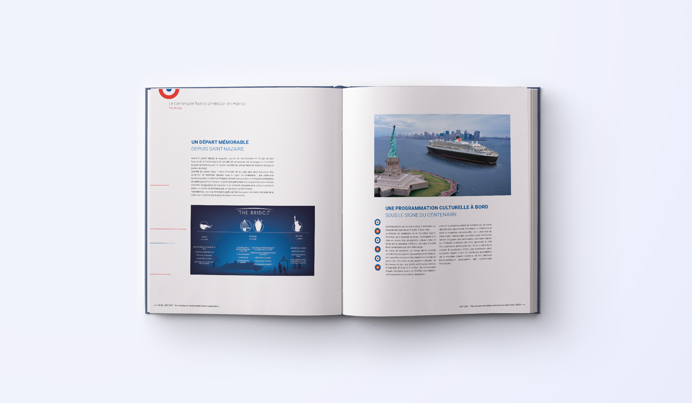 double page brochure franco usa