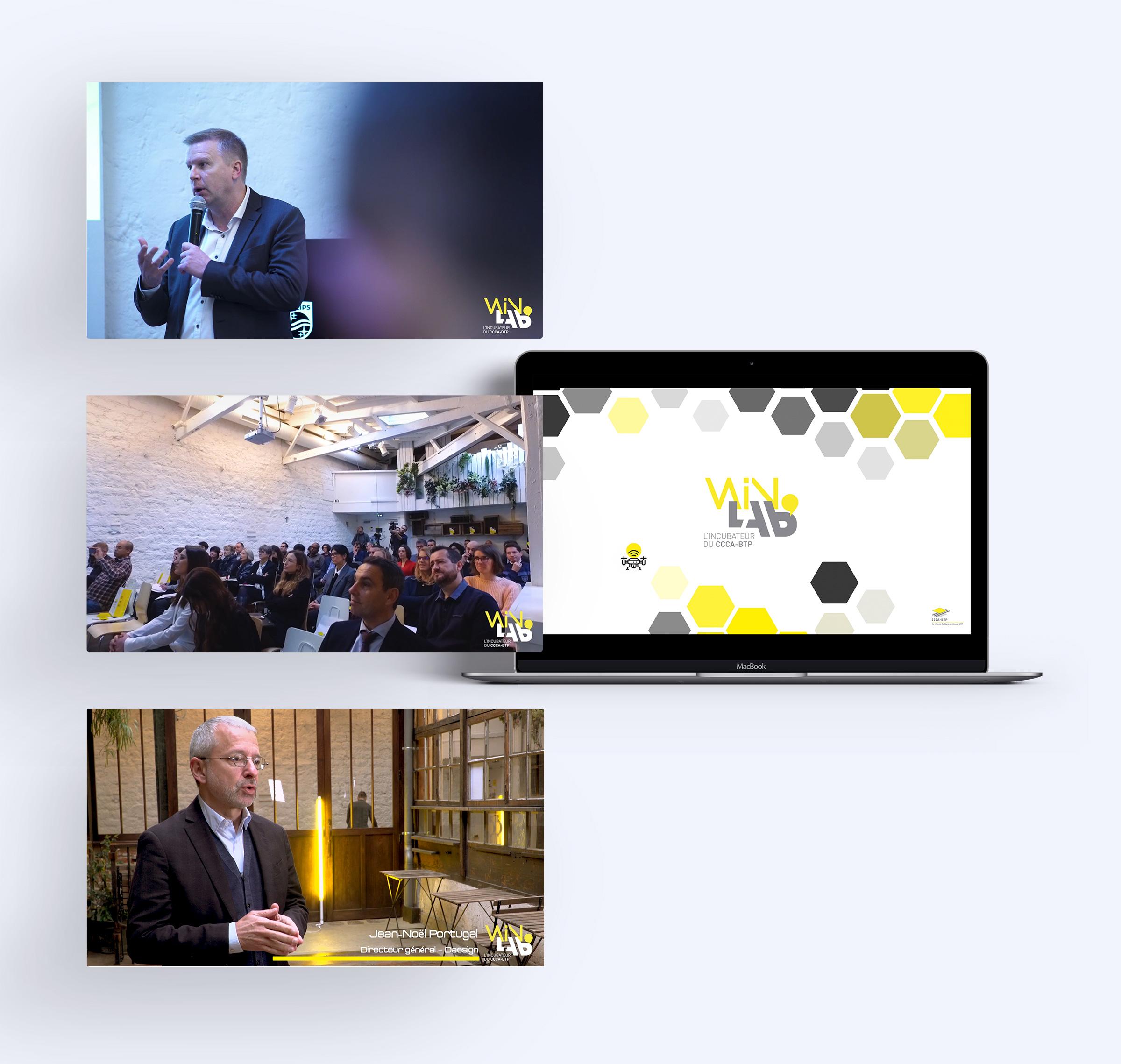 production vidéos évènements WinLab'