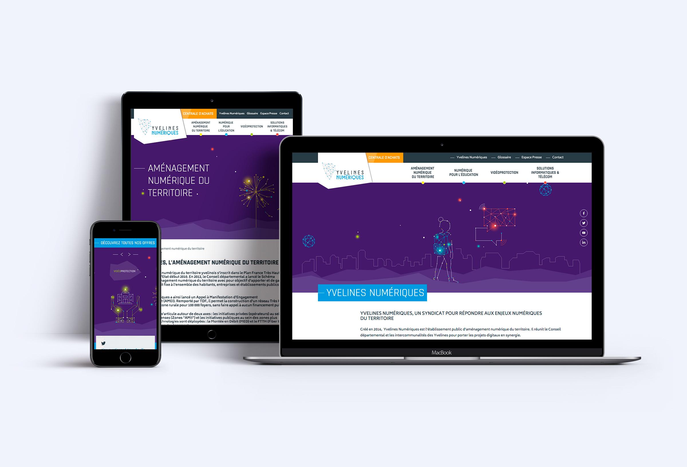 Yvelines numérique site web