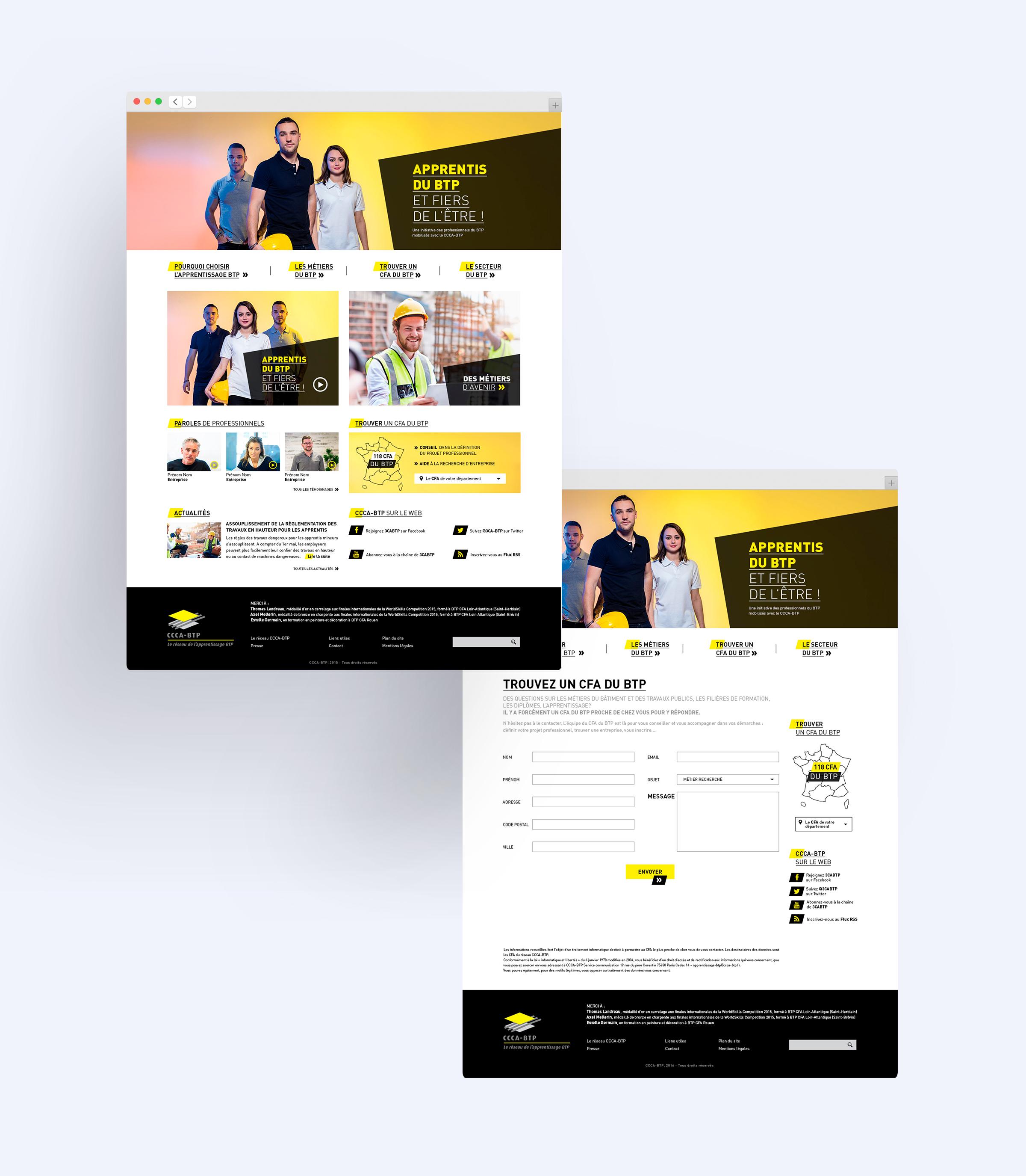 Site Web dédié