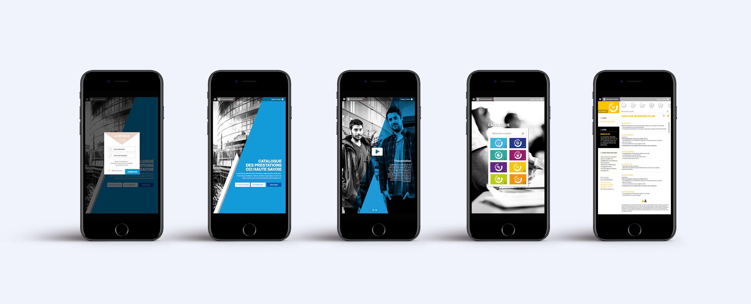 Conception et production application mobile CCI74
