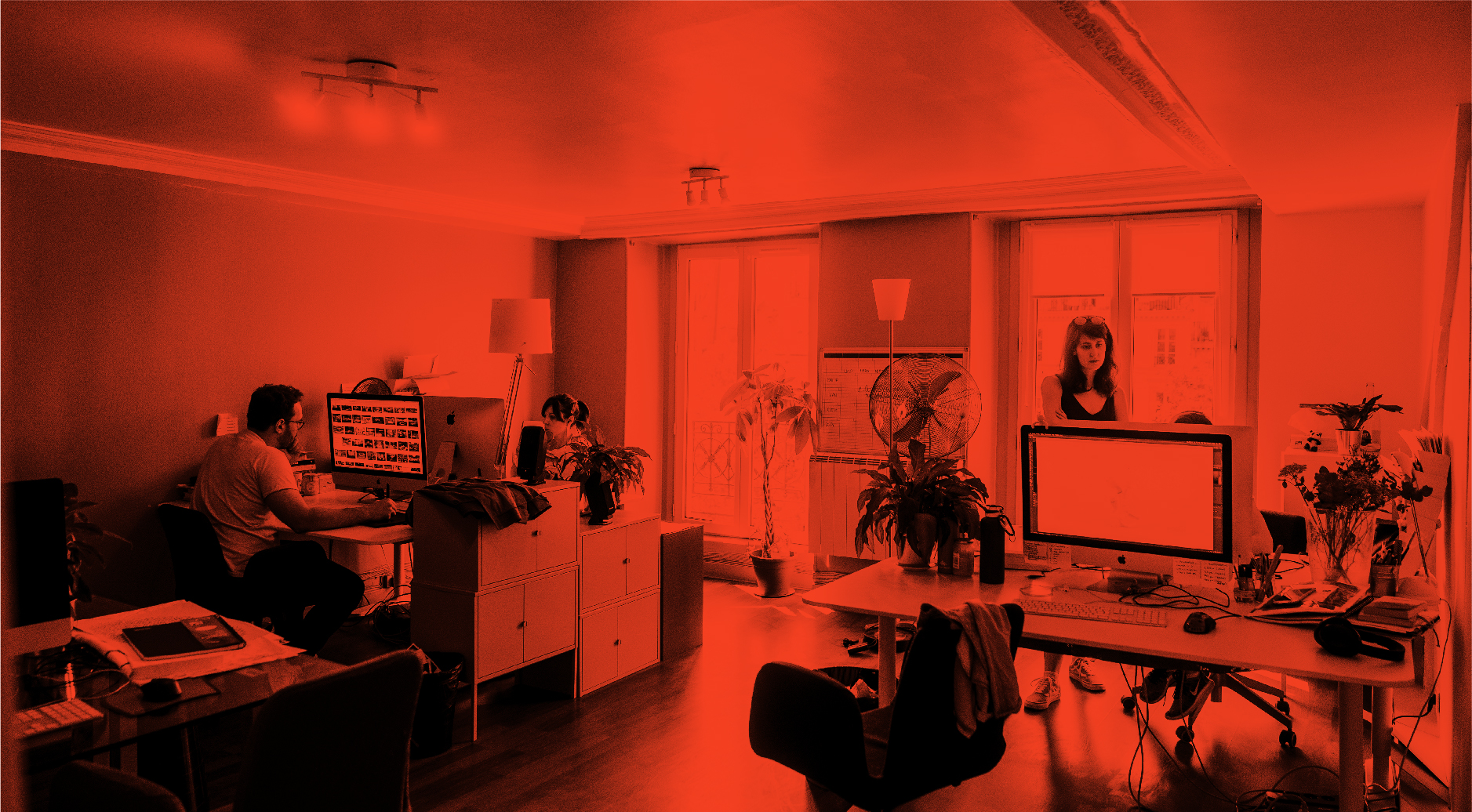 Locaux Thalamus agence communication stratégie digitale Paris studio design