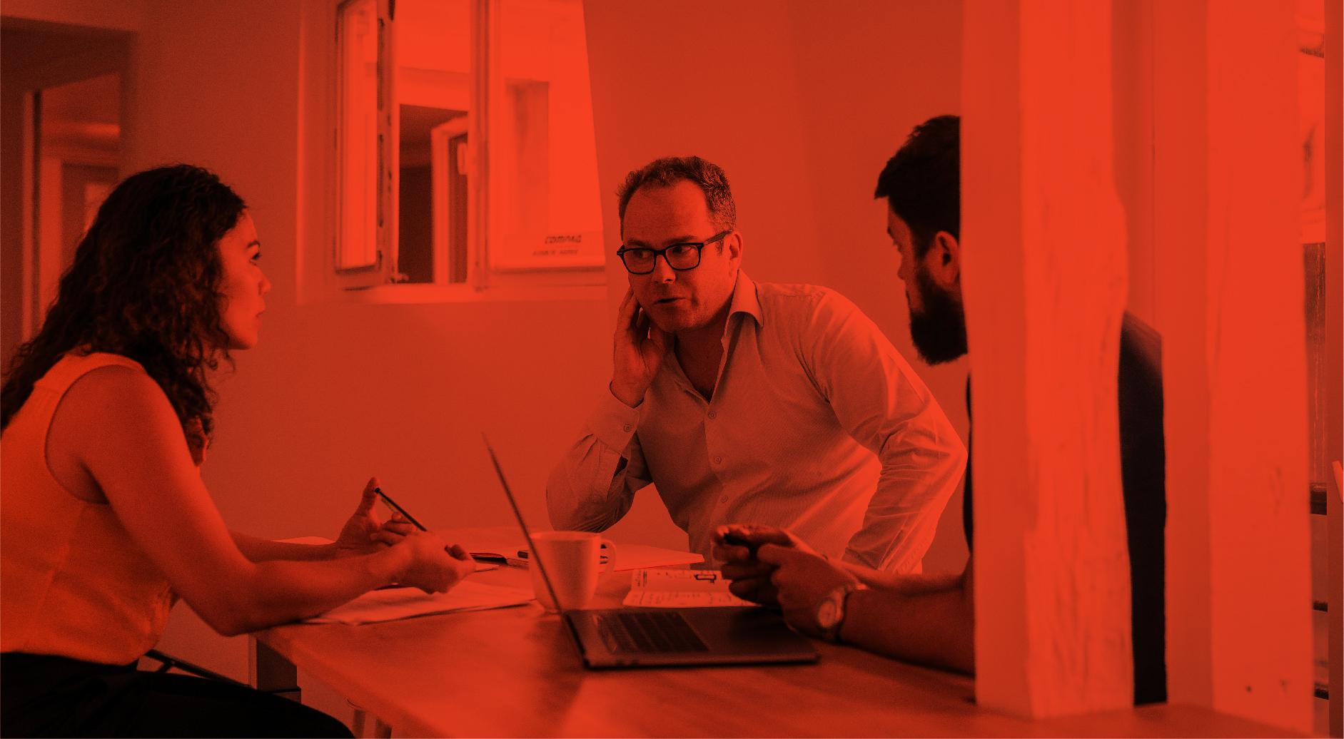 Locaux Thalamus agence communication digitale conseil accompagnement Paris studio design