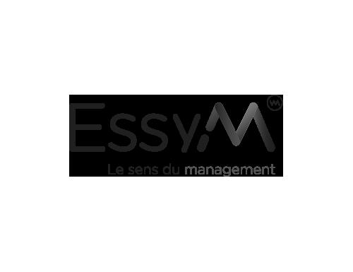 logo ESSYM noir et blanc
