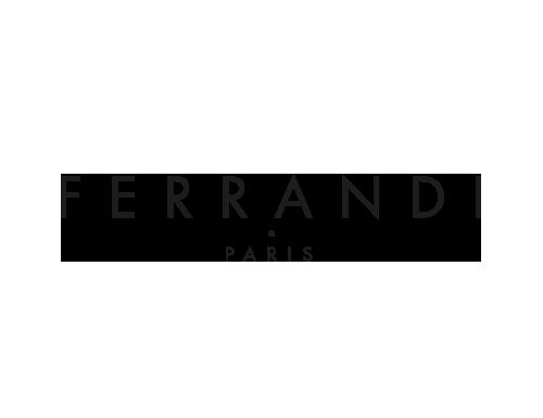 logo Ferrandi noir et blanc