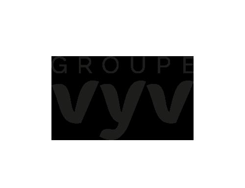 logo VYV noir et blanc