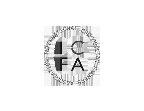 logo ICFA noir et blanc