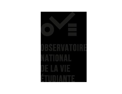 logo OVE noir et blanc