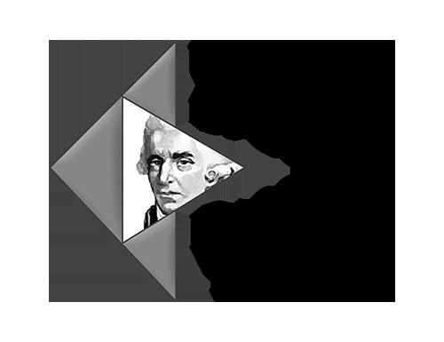 logo université corse noir et blanc