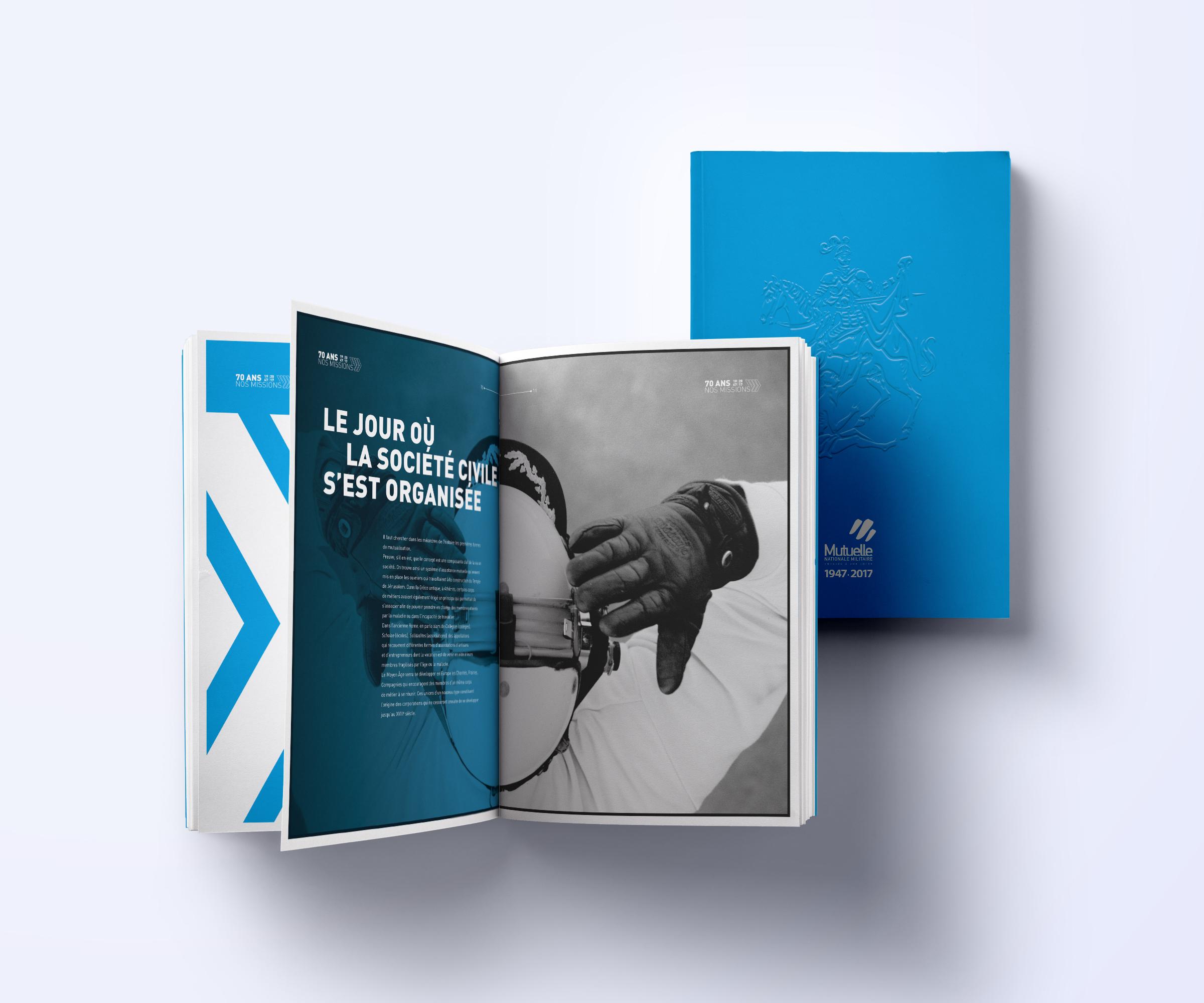 Couverture du rapport annuel MNM