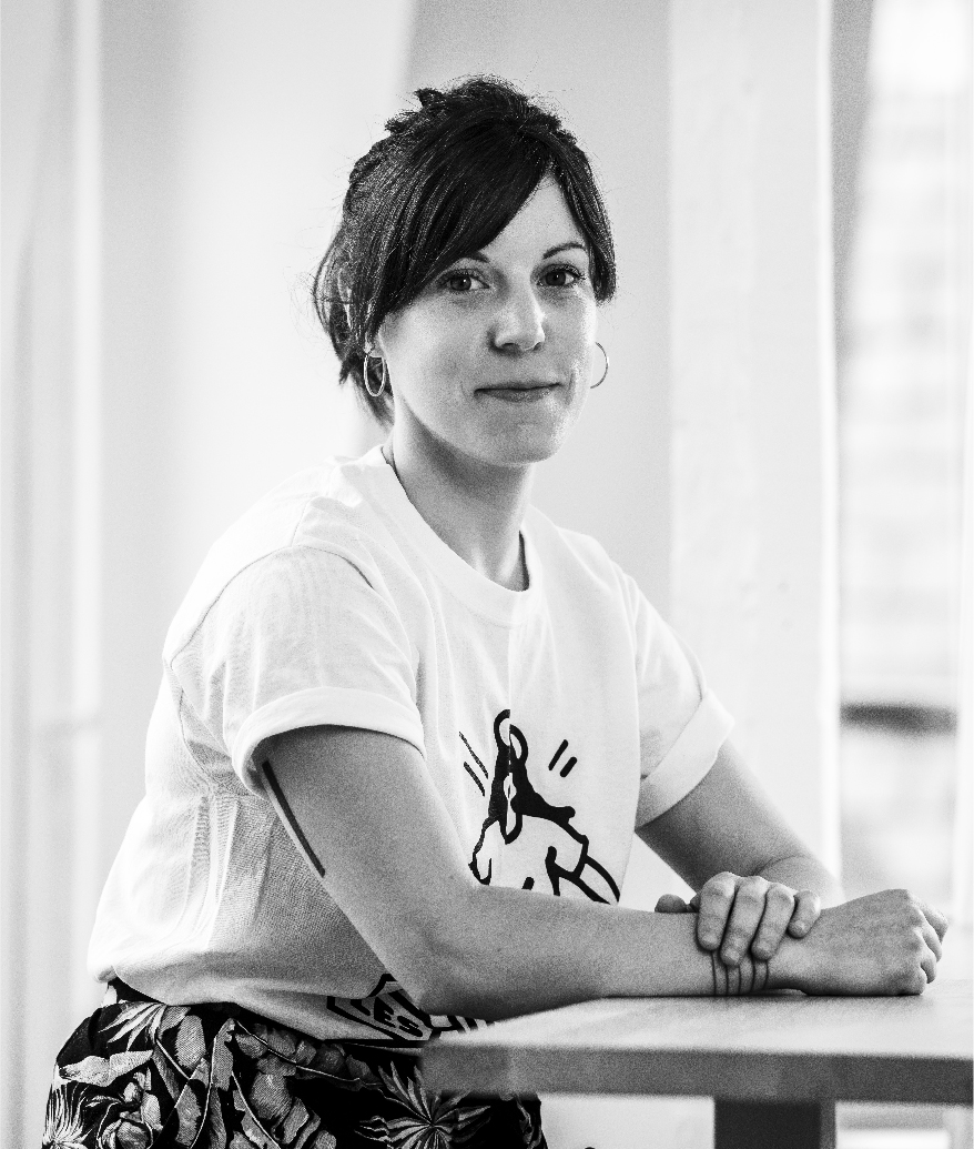 Poppy Moulin, graphiste maquettiste agence communication Thalamus Paris